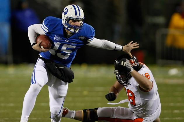BYU Football: Cougars to Wear Royal-Blue Throwbacks Against Utah Utes