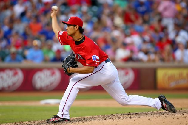 Darvish Striking out Opponents at Elite Pace
