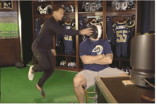 The St. Louis Rams Are Having a Smack Cam War During Training Camp