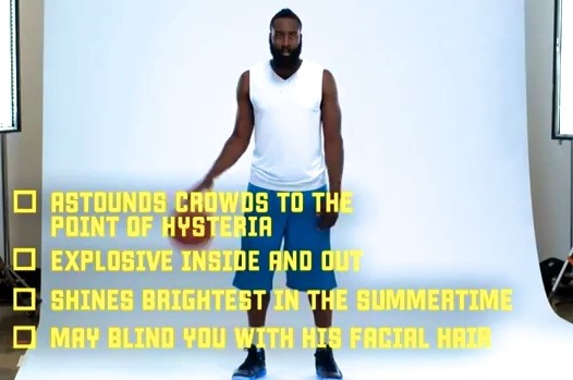 Harden Wants to Teach You the Eurostep