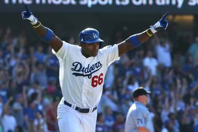 Yasiel Puig's Rise to Stardom Leads Los Angeles Dodgers to 1st Place in NL West