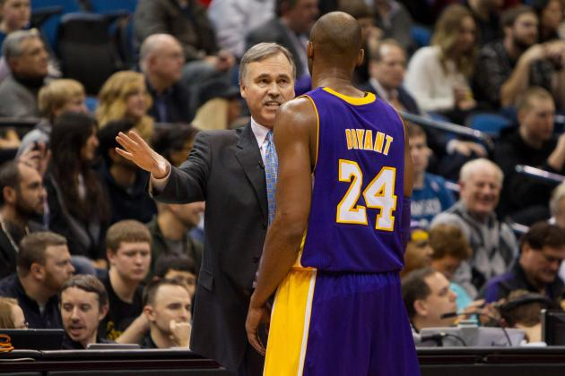 Managing Kobe Bryant's Return from Injury Is Mike D'Antoni's Toughest Task Yet