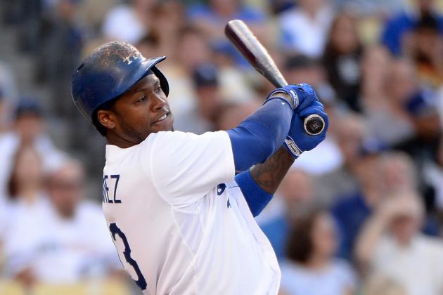 Hanley Ramirez, Carl Crawford out vs Cubs