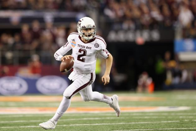 Johnny Manziel, Marcus Mariota Lead the 2013-14 Manning Award Watch List