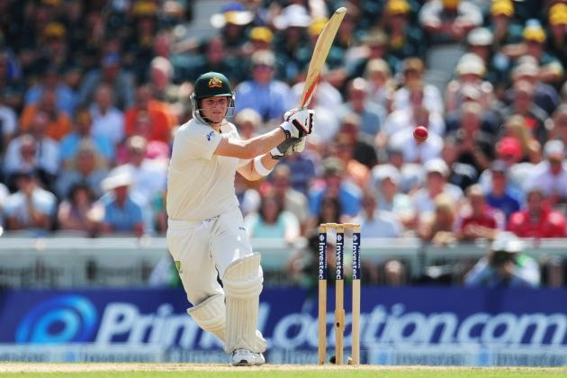 Ashes 2013: Australia's Batsmen Remember How to Bat