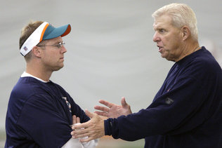 Parcells Admits Rift with Jeff Ireland