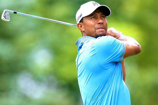Tiger Woods at WGC-Bridgestone Invitational 2013: Day 2 Live Score & Analysis