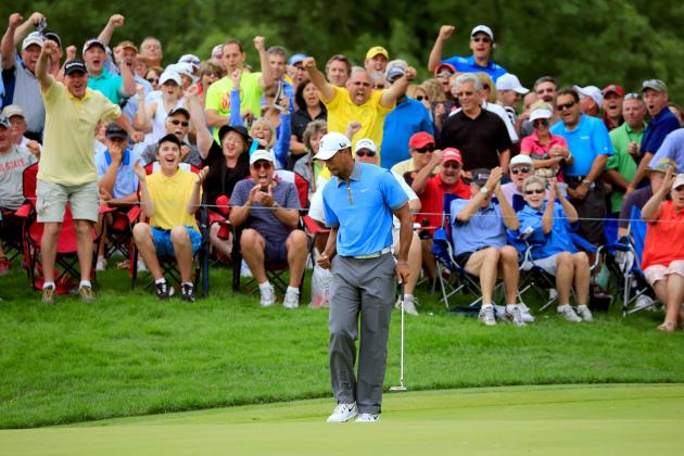 Where Tiger Woods' 61 at WGC-Bridgestone Stands in His All-Time Greatest Feats