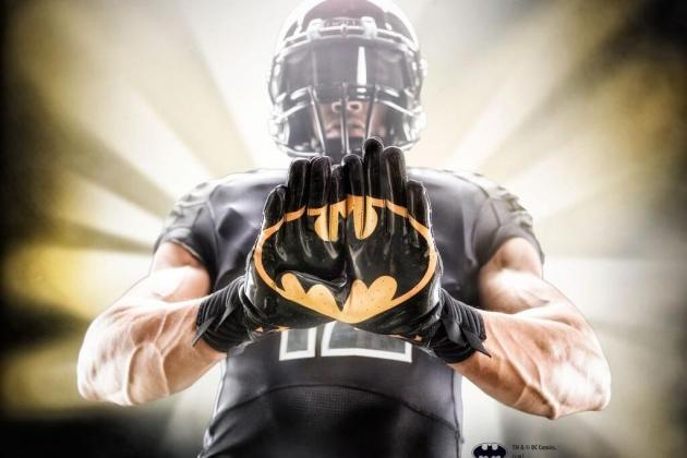 Under Armour Introduces Superhero Alter Ego Football Gloves