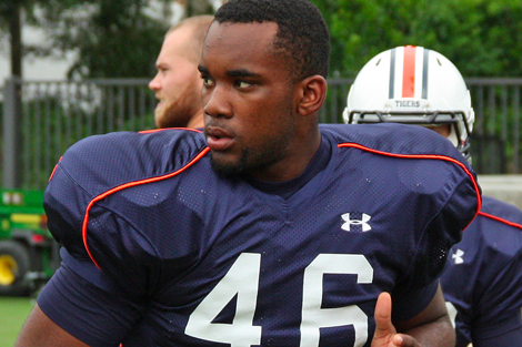 Report: Auburn Dismisses TE Ricky Parks