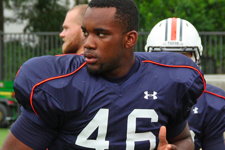 Auburn Tight End Ricky Parks Dismissed for Violation of Team Rules