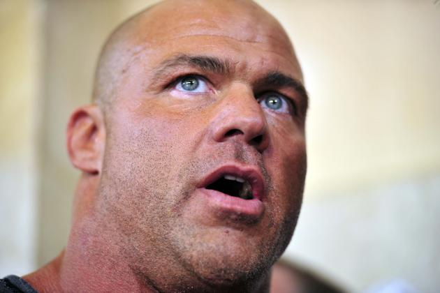 Former WWE Star Kurt Angle Announces He's Entering Rehab