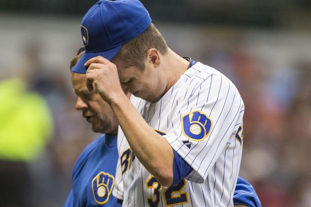 Gorzelanny Leaves with Elbow Contusion