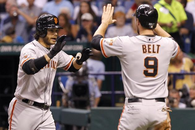 Belt Comes Back to Life as SF Giants Win Third Straight