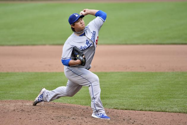 Dodgers Up Ryu's Winning Streak to 7 Games