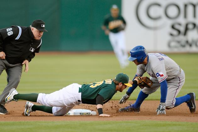 Rangers 8, Athletics 3