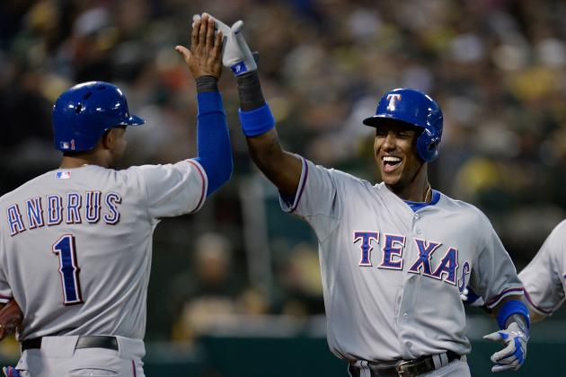 Rapid Reaction: Rangers 8, A's 3