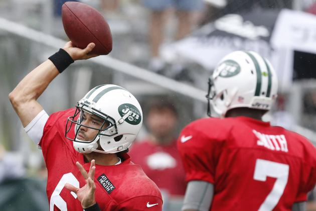 Mark Sanchez: I'm Having a Great Camp, I'm in Command