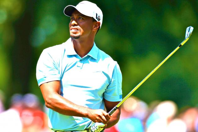 Tiger Woods at WGC-Bridgestone Invitational 2013: Day 3 Live Score & Analysis