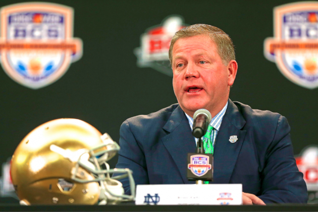 ND Puts BCS Title Game on Schedule