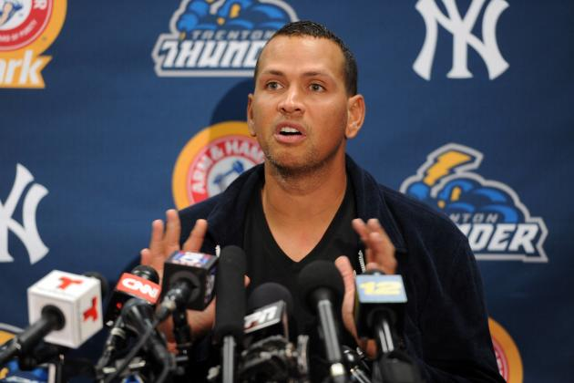 MLB Rumors: Latest on Alex Rodriguez Suspension, Lance Berkman Return and More