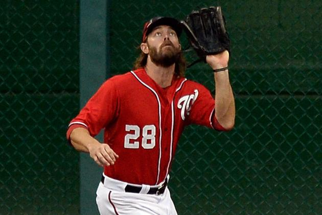 Werth Exits vs. MIL in 6th Inning