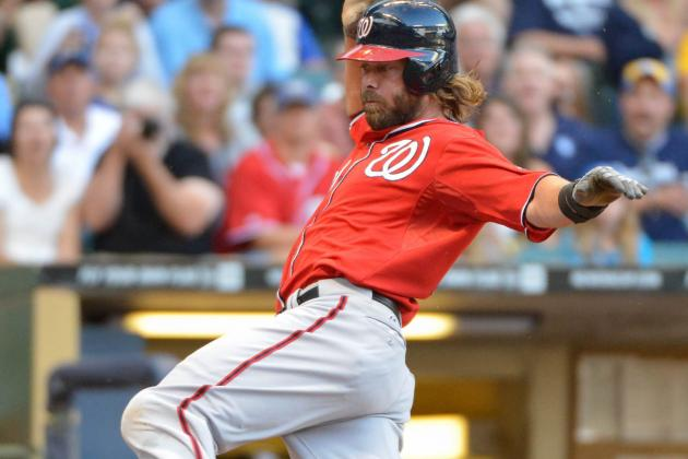 Werth Exited vs. Brewers Due to Tweaked Groin
