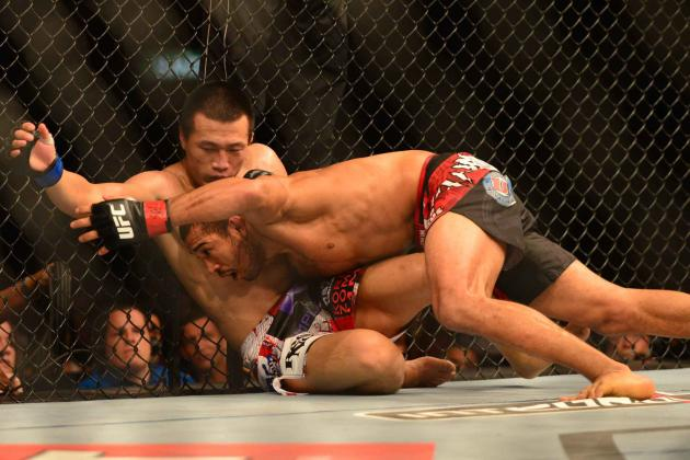 Aldo vs. Korean Zombie: Breaking Down the FightMetric Numbers
