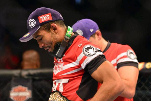 Jose Aldo Would 'Love' to Go to Lightweight If the UFC Gives Him the Opportunity