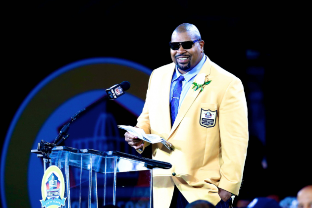 Larry Allen's Classic First Date Story