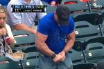 Jacked Mets' Fan Attempts to Open Water Bottle, Fails Miserably