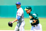 Rangers' Matt Garza Lashes Out on A's Player's Wife on Twitter