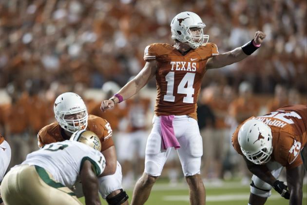 Texas Football: How QB David Ash Can Take the Next Step in 2013 Fall Camp
