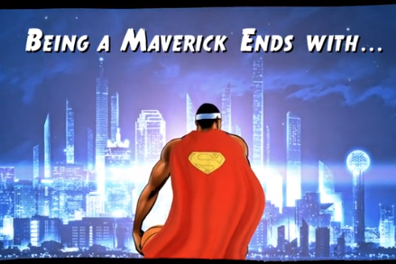 Mavs' Super Hero-Themed Pitch to D12