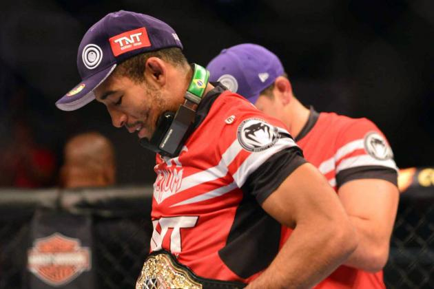 Jose Aldo Injury Woes Continue, Likely to Miss Rest of 2013 with Broken Foot