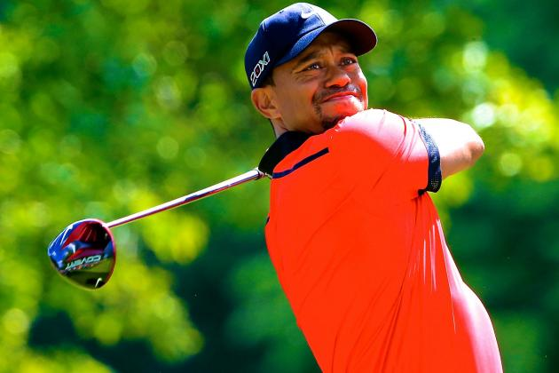 Tiger Woods at WGC-Bridgestone Invitational 2013: Day 4 Live Score and Analysis