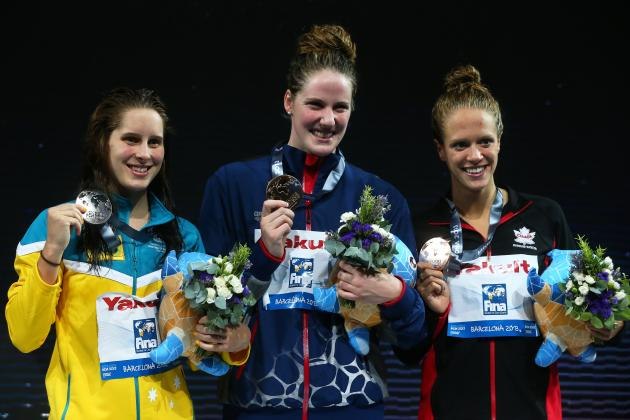 Missy Franklin Sets Record with Sixth Gold Medal at Swimming World Championships