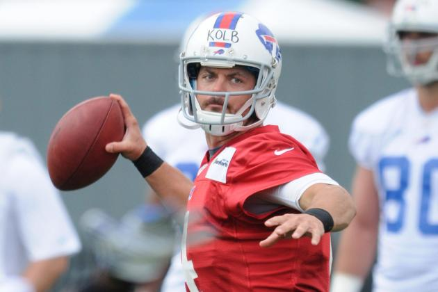 Bills' Kolb Has Chance to Scrimmage Monday