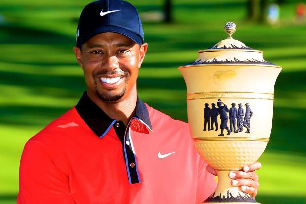 Tiger Woods at Bridgestone Invitational 2013: Day 4 Recap and Twitter Reaction