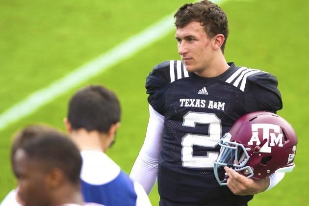 Johnny Manziel Suspended for First Half of Season Opener vs Rice