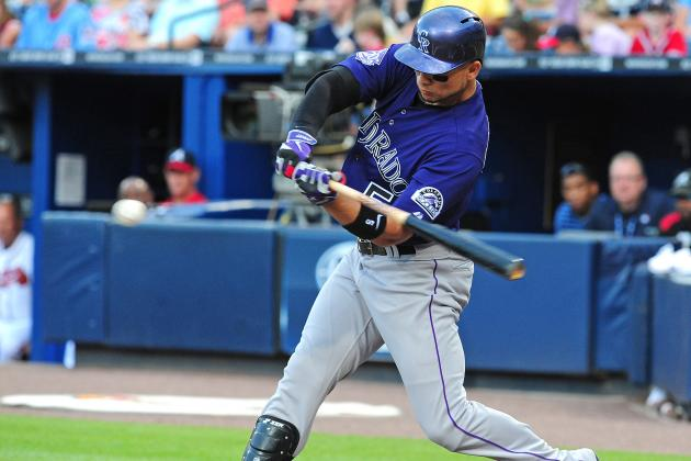 Carlos Gonzalez's Aching Finger Might Finally Land Him on Rockies DL