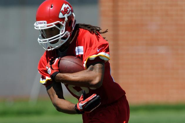 Receiver Rico Richardson Is Making a Splash with the Chiefs