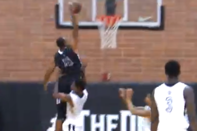 Nick Young Gets Baptized During a Drew League Game by Dijon Thompson