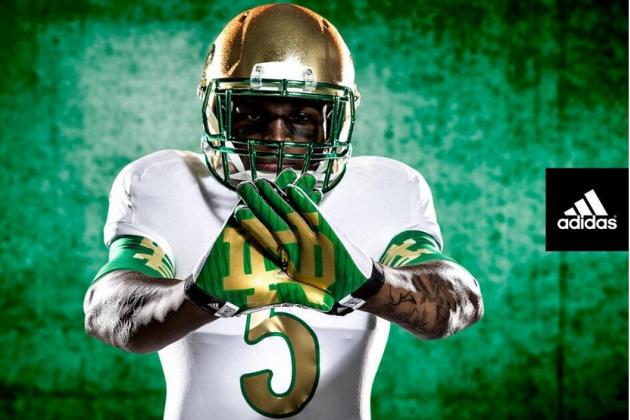 Adidas Unveils New Notre Dame Shamrock Series Uniforms