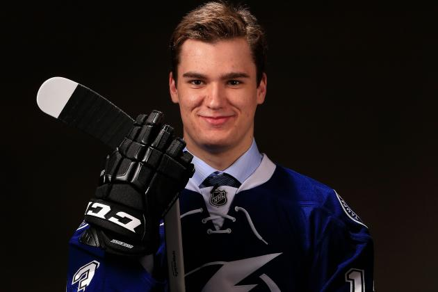 Lightning's Drouin Misses Canada's Junior Camp with Sore Foot