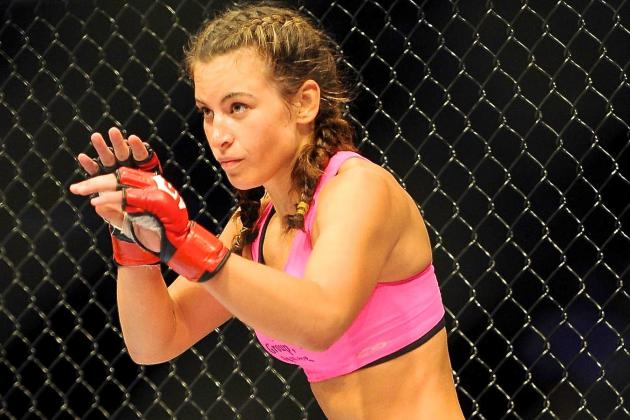 The Fighting Life: Tate's Passion for MMA Trumps Rivalry with Rousey