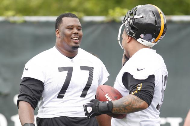 Offensive Line Emphasizing Short-Yardage Success for Steelers