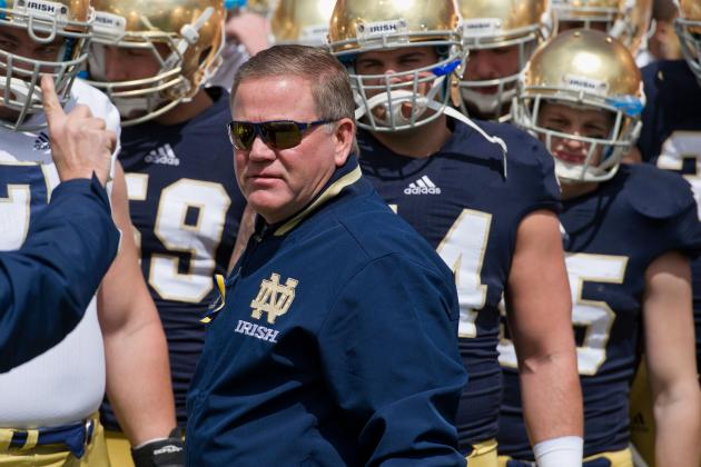 Brian Kelly's Contract Extension at Notre Dame Won't Prevent Flirting with NFL