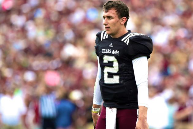Why Johnny Manziel's New Issue Forced Vegas to Take A&M-Alabama off the Board
