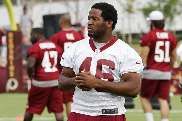 Redskins' Alfred Morris Appears Ready for More in His Second Season